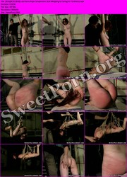 BrutalPunishment.com [09.25.2014] Lola Earns Rope Suspension, Bull Whipping & Caning for Tardiness Thumbnail